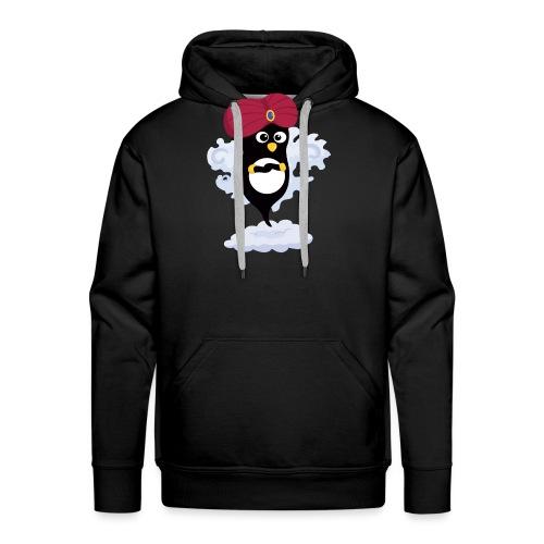 Génie Pingouin - Sweat-shirt à capuche Premium pour hommes