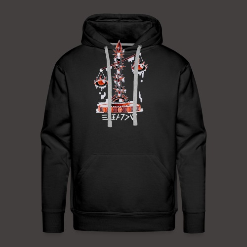 Balance Négutif - Sweat-shirt à capuche Premium pour hommes
