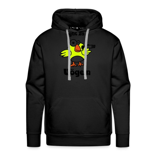 Gut zu Vögeln - Männer Premium Hoodie
