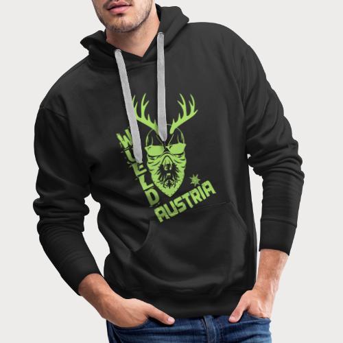 wueld austria hirsch - Männer Premium Hoodie