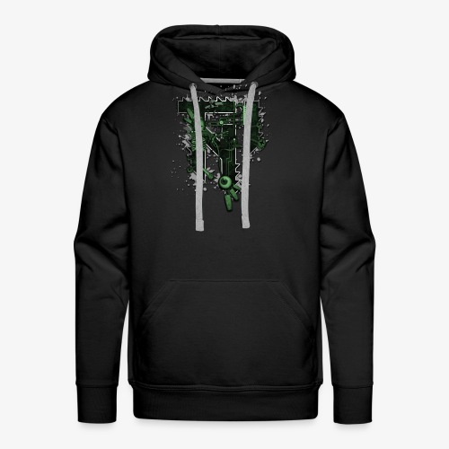 TNI freak - love music. hate people - Männer Premium Hoodie