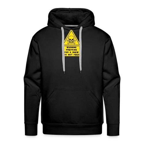 Prepping, do not Feed ! - Sweat-shirt à capuche Premium pour hommes