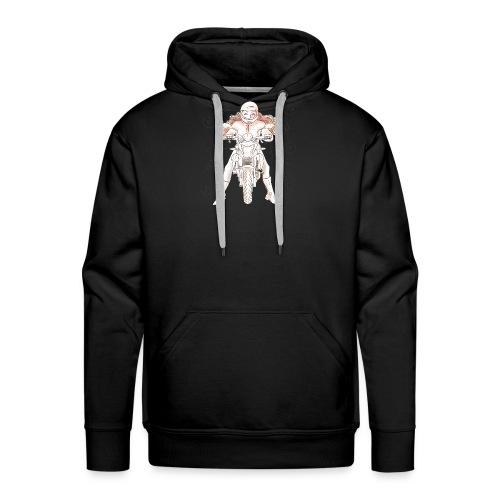 Dessin seul couv - Sweat-shirt à capuche Premium pour hommes
