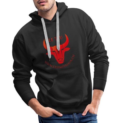 Le Tau - Sweat-shirt à capuche Premium pour hommes