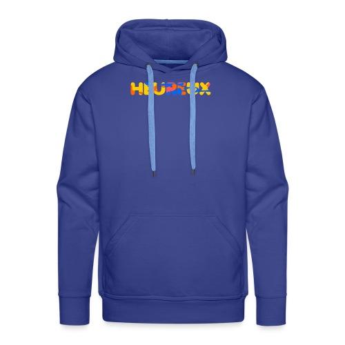 happy - Sweat-shirt à capuche Premium pour hommes