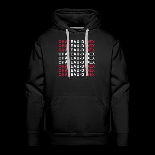 Château-d'Oex Flagshirt - Sweat-shirt à capuche Premium pour hommes
