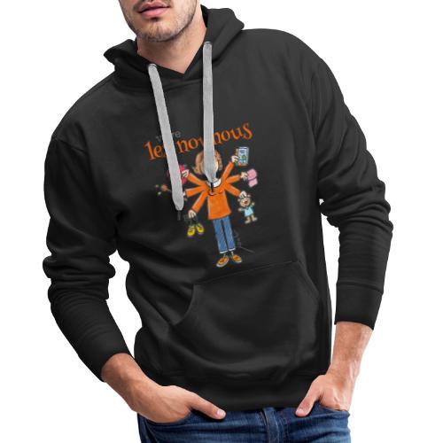 013 vive les nounous - Sweat-shirt à capuche Premium pour hommes