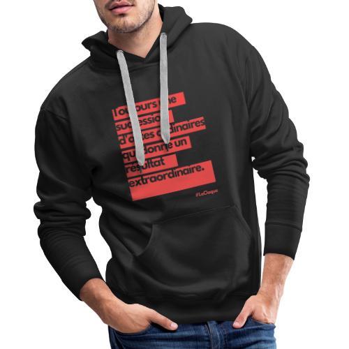 L'extraordinaire par La Claque. - Sweat-shirt à capuche Premium pour hommes