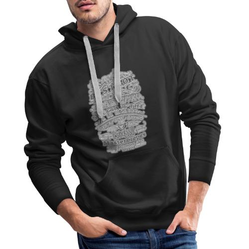 TEESHIRT 1 CAFE OPPIDUM - Sweat-shirt à capuche Premium pour hommes