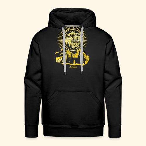 Wuppertal T Shirt Design - Männer Premium Hoodie