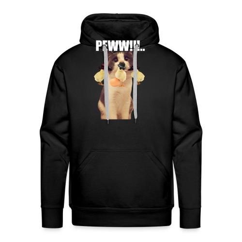 PEWW!!!.. - Herre Premium hættetrøje