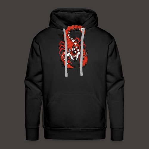 Scorpion original - Sweat-shirt à capuche Premium pour hommes