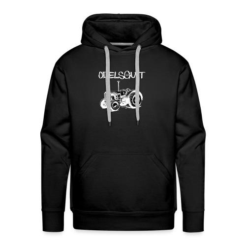 Odelsgutt - Premium hettegenser for menn