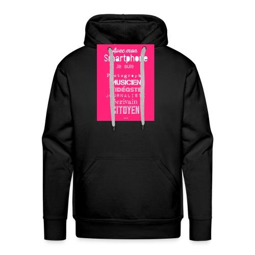 Smartphone - Sweat-shirt à capuche Premium pour hommes