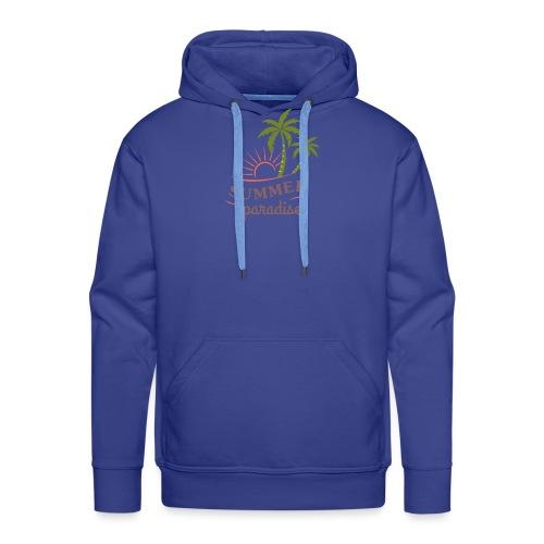 Summer paradise - Men's Premium Hoodie