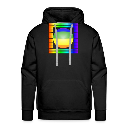 shirt-08-bilderrahmen - Männer Premium Hoodie