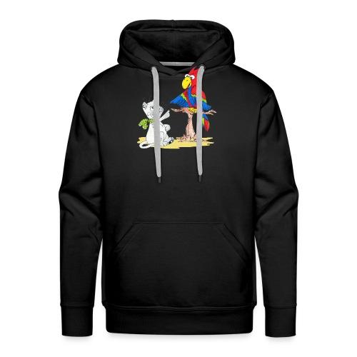 Nestor et Kumb - Sweat-shirt à capuche Premium pour hommes