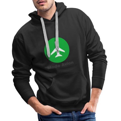 Mode Avion - Sweat-shirt à capuche Premium pour hommes