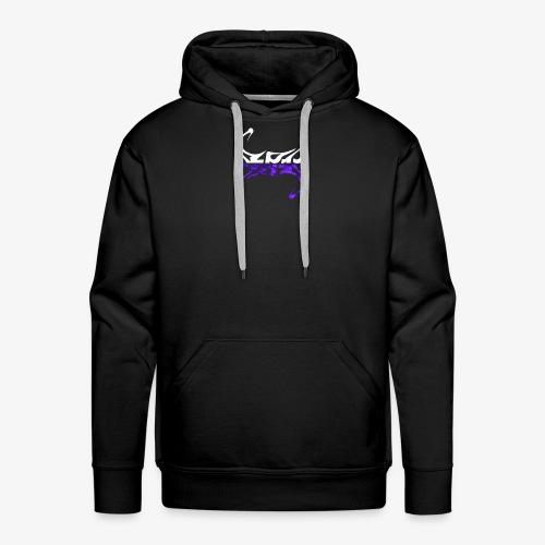 Crazy Purple - Premium hettegenser for menn