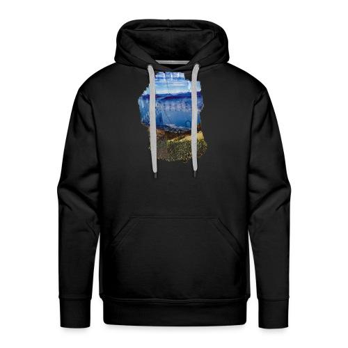 Turm und schöne Landschaft - Männer Premium Hoodie