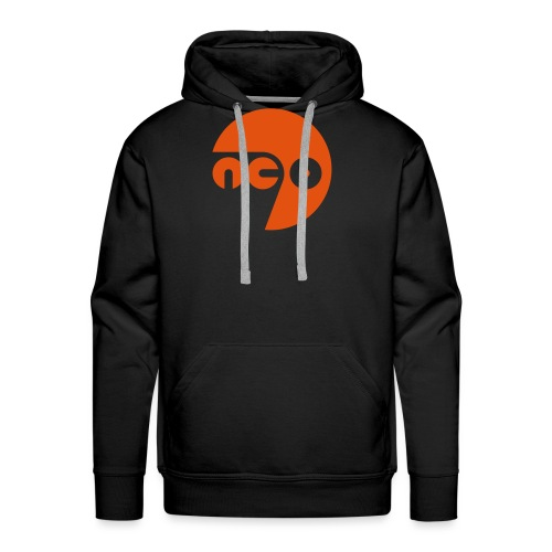 neo7 logo color - Männer Premium Hoodie