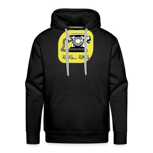 ring ring telefoon - Mannen Premium hoodie