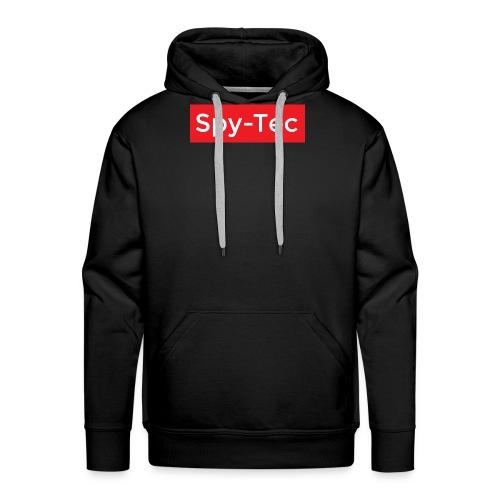 Spy-Tec Box Logo - Premiumluvtröja herr