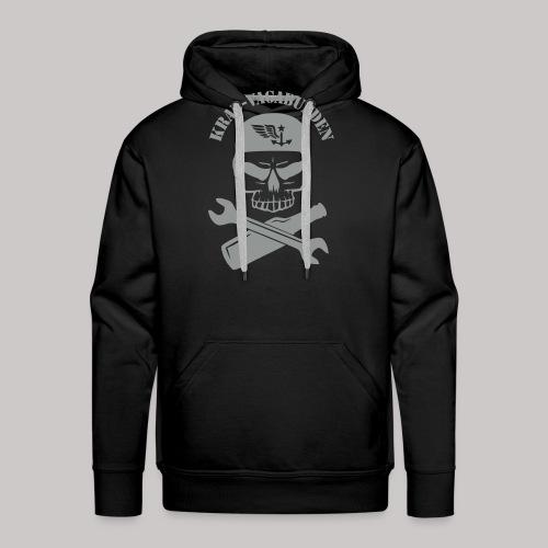 Krad-Vagabunden Totenkopf - Männer Premium Hoodie