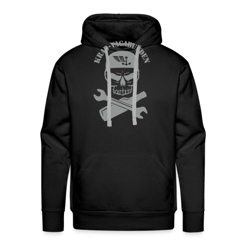Krad-Vagabunden Totenkopf - Men's Premium Hoodie