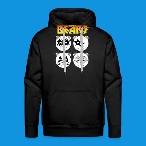 Kiss Bears square.png - Men's Premium Hoodie