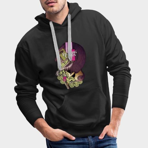 Fighting cards - Invocateur - Sweat-shirt à capuche Premium pour hommes