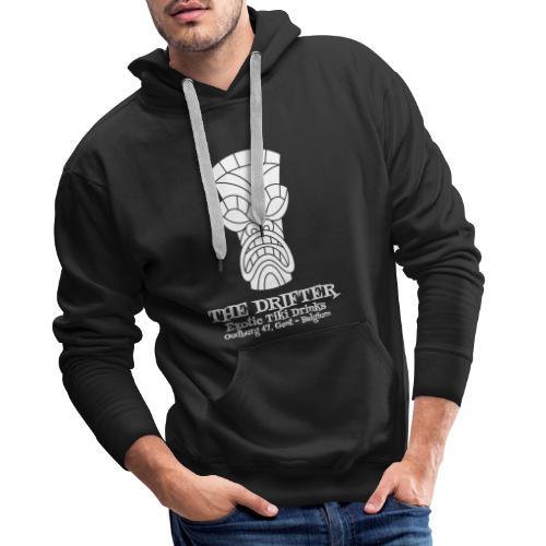 tshirt logo wit - Mannen Premium hoodie
