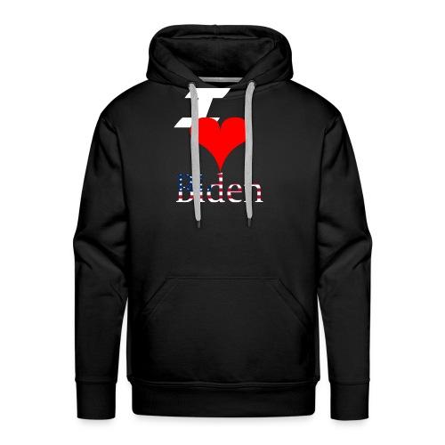 I love Biden - Mannen Premium hoodie