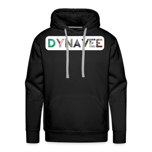 Dynavee Logo ausgefüllt - Männer Premium Hoodie