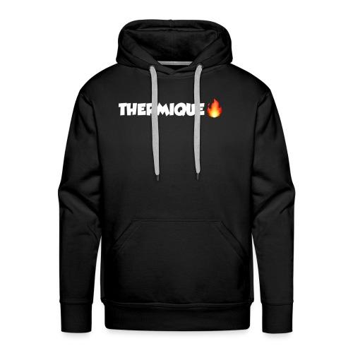 THERMIQUE - Sweat-shirt à capuche Premium pour hommes