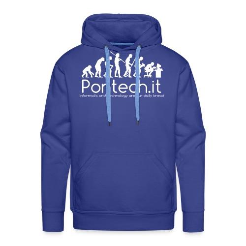 Pontech.it - Felpa con cappuccio premium da uomo