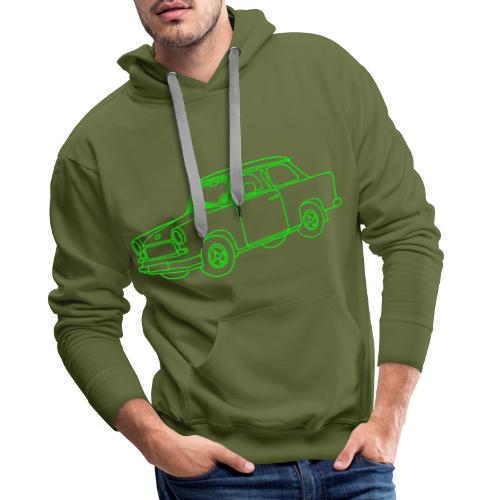 Trabi, Trabant, Kleinwagen der DDR - Männer Premium Hoodie