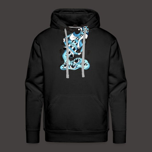 Verseau original - Sweat-shirt à capuche Premium pour hommes
