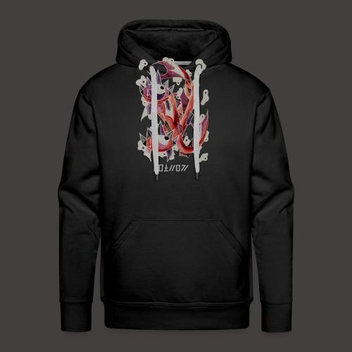 Poisson Négutif - Sweat-shirt à capuche Premium pour hommes
