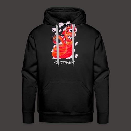 serpentaire Négutif - Sweat-shirt à capuche Premium pour hommes