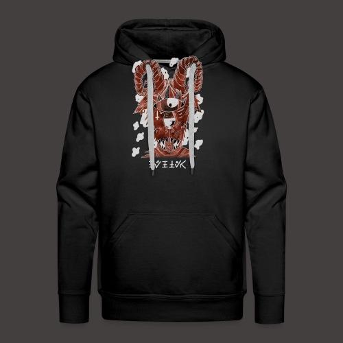 Belier Négutif - Sweat-shirt à capuche Premium pour hommes