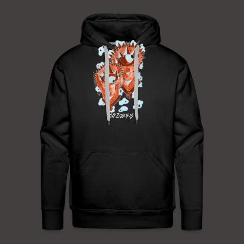 Gémeaux Négutif - Sweat-shirt à capuche Premium pour hommes