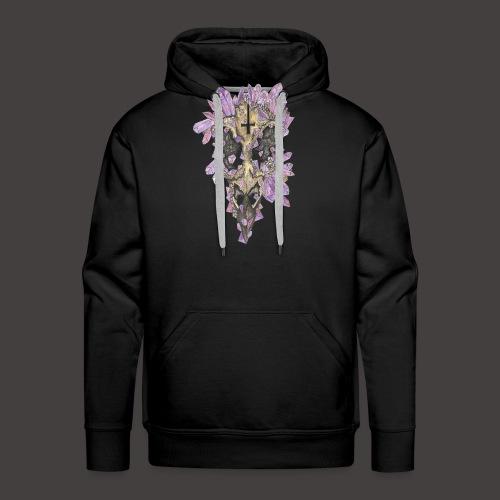 Le Corbeau de Cristal Couleur - Sweat-shirt à capuche Premium pour hommes