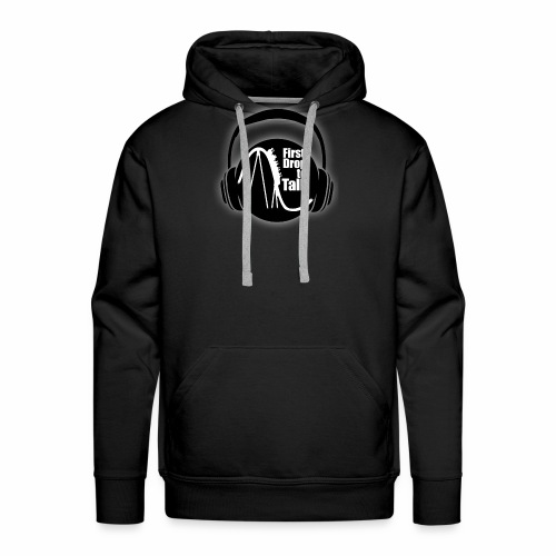 First Drop to Talk Logo - Männer Premium Hoodie