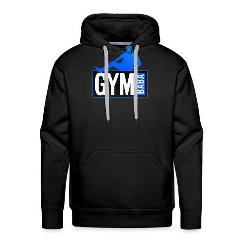Gym baba 2 bleu - Sweat-shirt à capuche Premium pour hommes