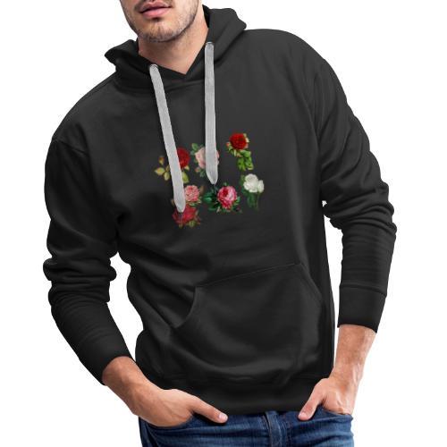 roses 1770165 960 720 - Männer Premium Hoodie