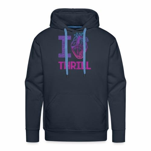I love Thrill Logo - ParkTube - Männer Premium Hoodie