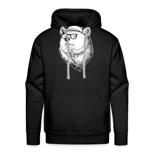 Lights Of Siberia - Men's Premium Hoodie
