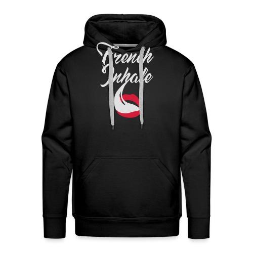 French Inhale - Männer Premium Hoodie
