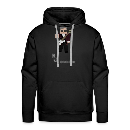 Capaldi with guitar png - Men's Premium Hoodie